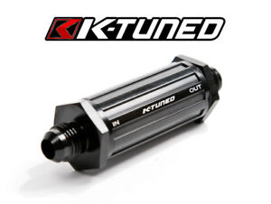 K-TUNED Inline UNIVERSAL Fuel Filter -6AN E-85 Compatible KTD-FF-06
