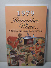 39th Birthday/ Anniversary  - 1979 Remember When Nostalgic Book Card  - NEW