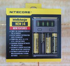 Nitecore Intellicharger NEW i4 Ladegerät für Li-Ion NiMH NiCd Akku 18650