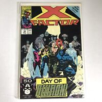 X Factor 70 Marvel Comics 1991 VF +  NM - 8.5 - 9.0 Mike Mignola Cvr Muir Island