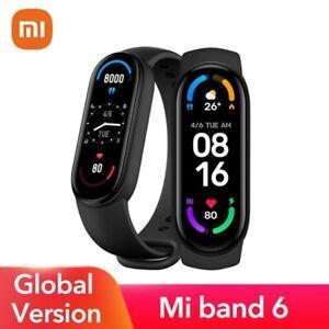 "Xiaomi Mi Band 6, 1.56"" AMOLED 5ATM Waterproof, SpO2, Heart Rate Monitor Fitness"