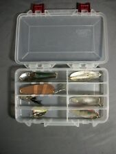 Lot of 8 Fishing Lures-Ike,Sonar, Sagamore-J.T. Buel,Weezel Rex Spoon