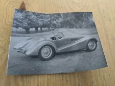 "VINTAGE ORIGINAL PHOTO 3.5"" x 2.75"" MOTOR CAR ROADSTER"