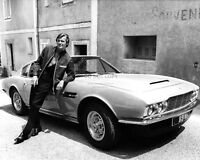 "ROGER MOORE w/ ASTON MARTIN DBS USED IN ""THE PERSUADERS!"" - 8X10 PHOTO (ZY-807)"