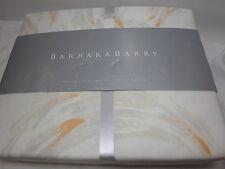 New Barbara Barry CAPRICE - Melon Full / Queen Duvet Cover 92x94 - NIP