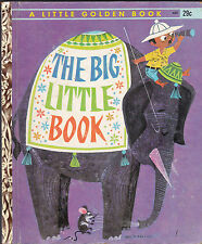 The Big Little Book Little Golden Book #482 1st print Dorothy Hall Smith