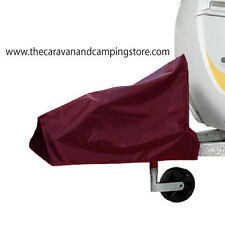 Caravan / Trailer Hitch Cover - BURGUNDY - Will fit AlKo & Winterhoff Hitch Head