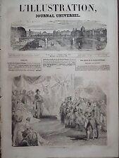 L' ILLUSTRATION 1843 N 10 LES FETES DE LA SAINT- PHILIPPE, LE ROI LOUIS-PHILIPPE