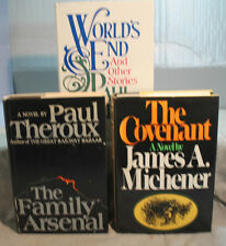 lot 3 THE COVENANT FAMILY ARSENAL WORLD'S END PAUL THEROUX JAMES MICHENER