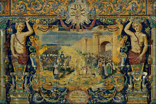 639084Conquest Of Badajoz By Alfonso IX Of Leon Spain A4 Photo Print