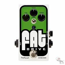 Pigtronix Fat Drive Tube Sound Overdrive Guitar Effects Pedal