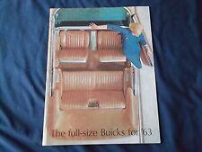 1963 Buick Brochure