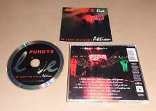 CD  Puhdys Live - 25 Jahre die totale Aktion  14.Tracks  1994  148