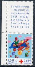 STAMP / TIMBRE FRANCE NEUF N° 3362 **  + VIGNETTE / CROIX ROUGE / AVION EN BOIS