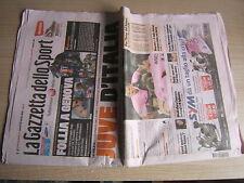 LA GAZZETTA DELLO SPORT=23/4/2012 juve-roma 4-0=milan bologna 1-1=