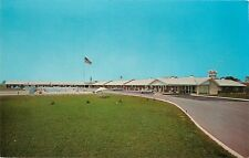 Del-Mar Motel Wauson Ohio OH Exit 3 on Ohio Turnpike Postcard