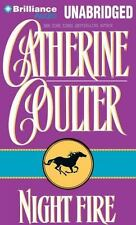 Night Trilogy: Night Fire 1 by Catherine Coulter (2012, CD, Unabridged)