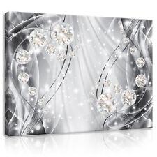 CANVAS Wandbild Leinwandbild Bild Abstraktion Luxus Kunst Diamant 3FX10406O1