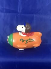 Vintage Fly Ace Snoopy Coin Bank