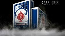 Bicycle Playing Cards Blue Rider Full Gaff Deck Rare Limited Accessory Magic .