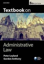 Textbook on Administrative Law (g8)