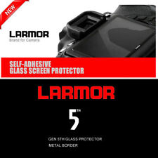 LARMOR GEN5 For Sony RX100 M5 Metal-bordered Glass self-adhesive protector