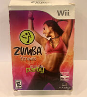 Wii ZUMBA FITNESS JOIN THE PARTY - NEW IN BOX
