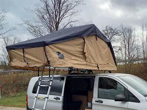 Dachzelt Abanico Sierra 140 neu original verpackt + Einhängezeltwände + Leiter