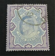 nystamps British India Stamp # 73 Used $40