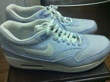 Nike Air Max 1 Premium QS Seersucker 366379 441 Sz 14 Blue/White 90 Jordan 1 11