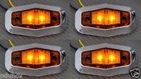 4x LED LATERAL NARANJA Luces de marcaje camión van bus RENAULT IVECO CROMO