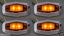 4x LED LATERAL NARANJA Luces de marcaje CAMIÓN FURGONETA BUS RENAULT IVECO