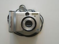 Canon PowerShot A95 5.0 MP Digital Silver Camera Zoom Model PC1099 & case & card