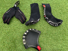 HUUB Thermal Swimming Hat, Gloves And Booties Large Open Water Triathlon Wetsuit