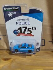 Greenlight Montreal Police 2018 Dodge Charger Pursuit
