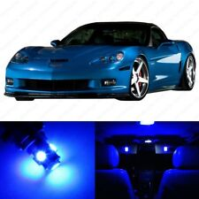 11 x Blue LED Interior Light Package For 2005 -2013 Chevy Corvette C6 +PRY TOOL