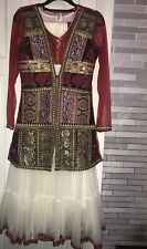 WEDDING/ PARTY/ OCCASION WEAR ASIAN STYLE DRESS: SIZE 36