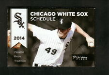 Chicago White Sox--Chris Sale--2014 Pocket Schedule--Miller Lite