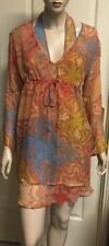 Paisley Casual Regular Size 100% Silk Tops for Women