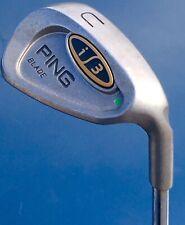 Ping i3 Blade Green Dot Utility Wedge Steel Stiff S Flex UW Golf Club Excellent