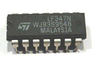LF347N - Quadruple Ampli Opérationnel JFET ST LF 347 LF347