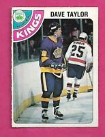 1978-79 OPC # 353 KINGS DAVE TAYLOR  ROOKIE EX-MT CARD (INV# C2804)
