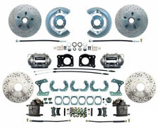64-73 Ford Mustang 63-69 Falcon 64-69 Fairlane Front & Rear Disc Brake Kit 9""