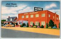 HUGHESVILLE MARYLAND*HOTEL CHARLES*OLSON'S BAR & GRILL*SOUTHERN MD*UNUSED LINEN