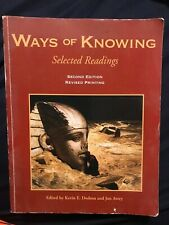 WAYS OF KNOWING: SELECTED READINGS By Avery Jon