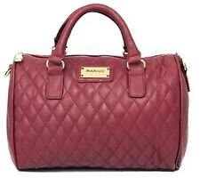 Mango Quilted Bowling Bag (Red)