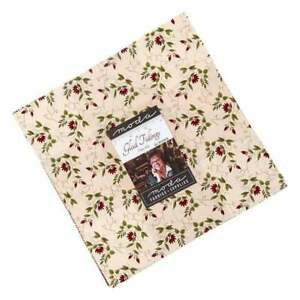 """Glad Tidings  Layer Cake 38090 LC pre cut Layer Cake 10 """" squares fabric quilt"""