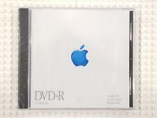 SEALED VINTAGE Apple DVD-R 4.7GB Power Mac BLUE LOGO Cupertino STEVE JOBS !