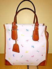 Petusco (Leather/White//Multi-Colored/Horse-Themed) Shoulder Bag-MEDIUM