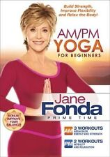 Jane Fonda Am PM Yoga for Beginners 0031398157793 DVD Region 1